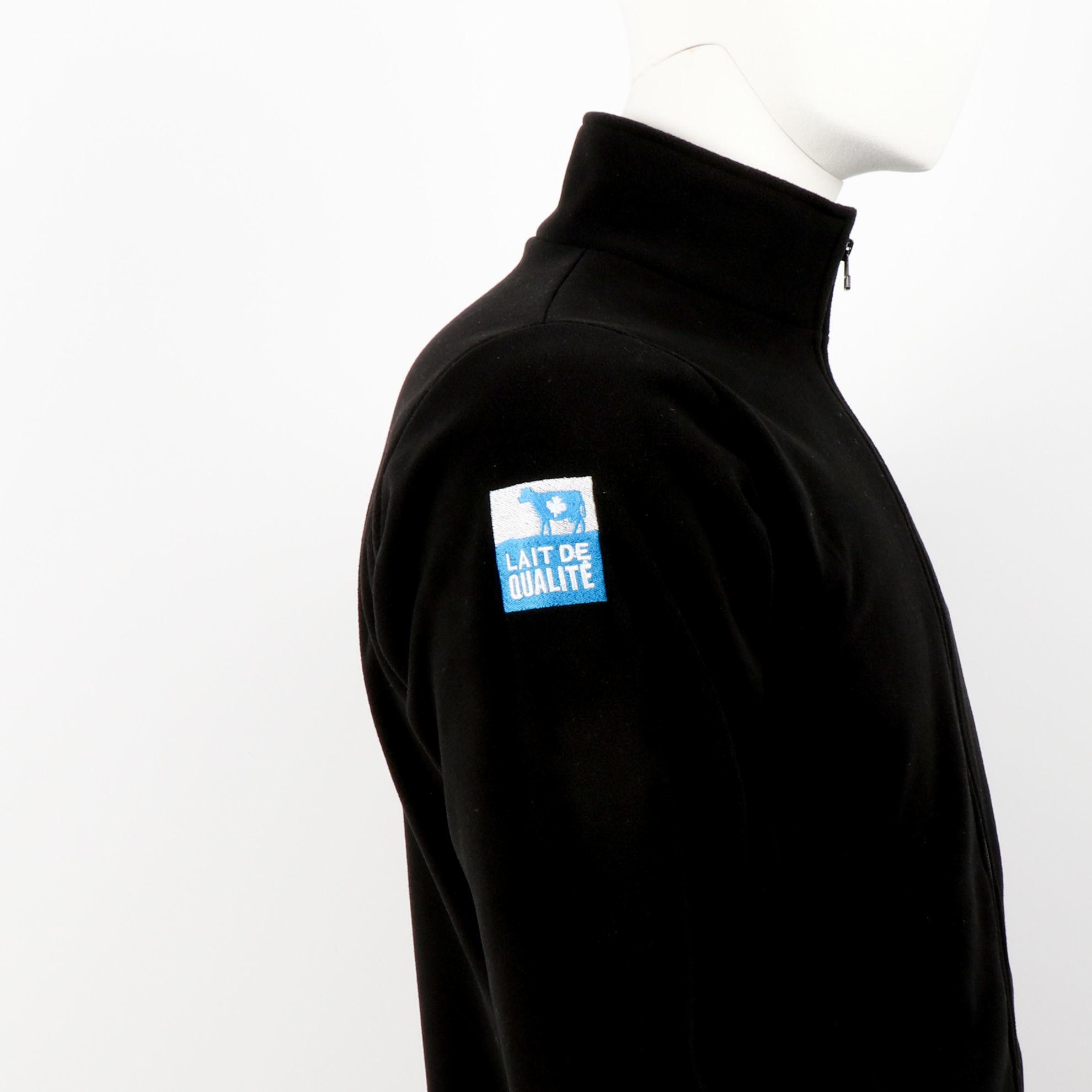 Image de Veste polaire unisexe noire