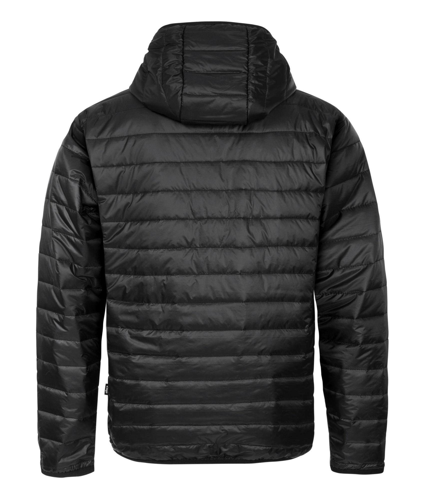 Image de Manteau matelassé noir pour hommes