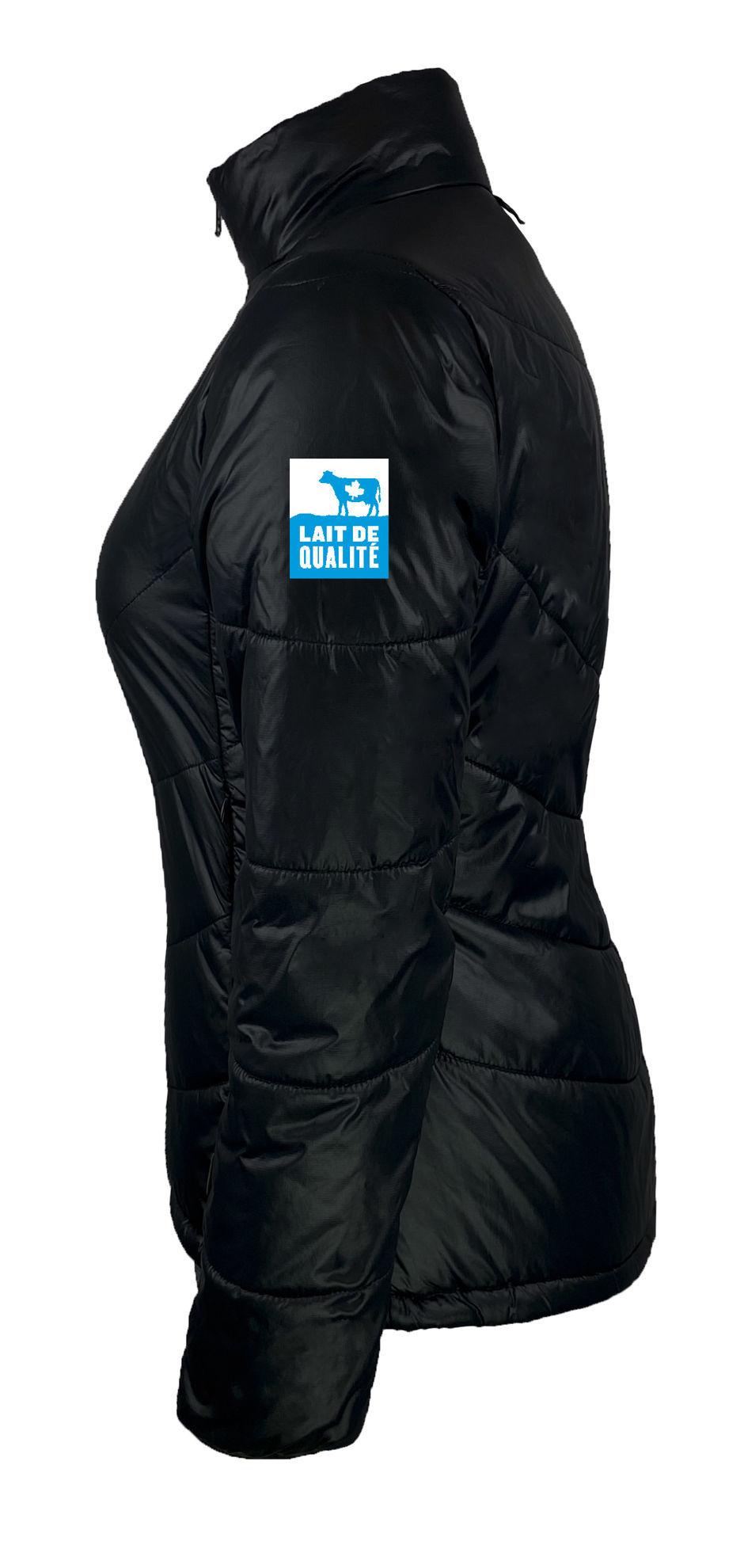Image de Manteau polyvalent noir pour femmes