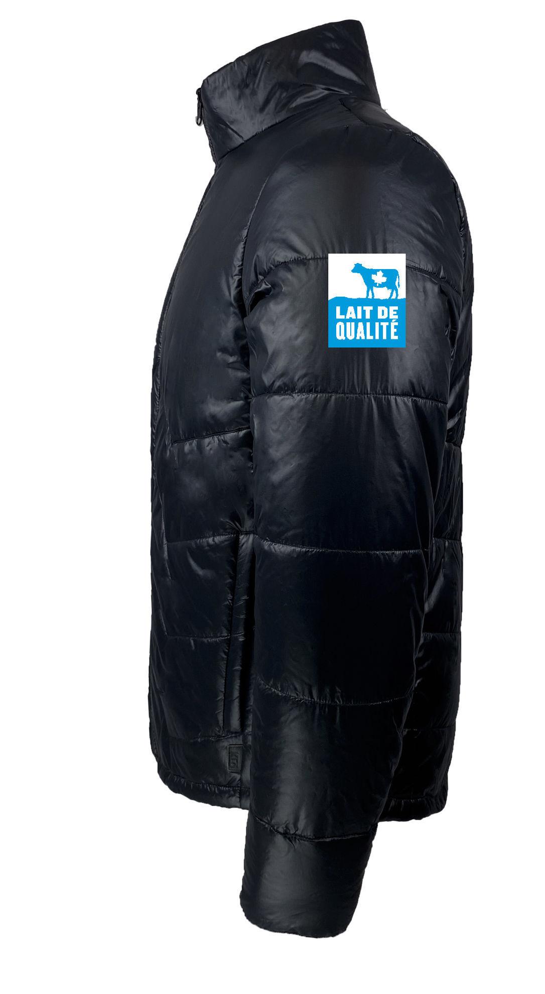 Image de Manteau polyvalent noir pour hommes