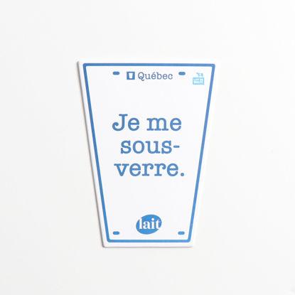 Image de Sous-verres ''Je me sous-verre''
