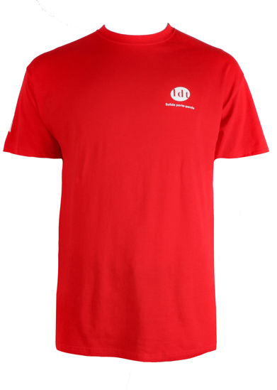 Picture of LDT Spokesperson Solid Red T-Shirt